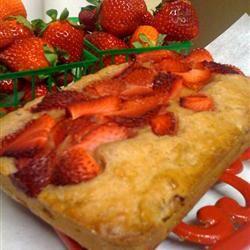 Strawnana Bread lil creamy