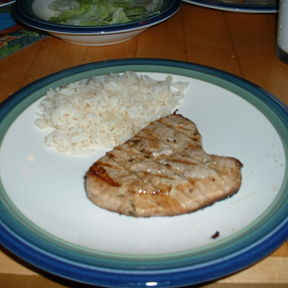 Tarragon Tuna Steaks
