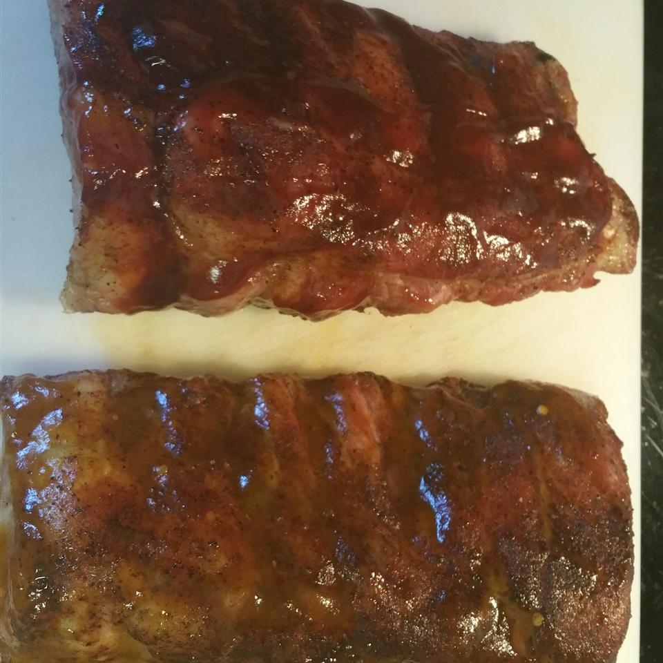 Prize Winning Baby Back Ribs