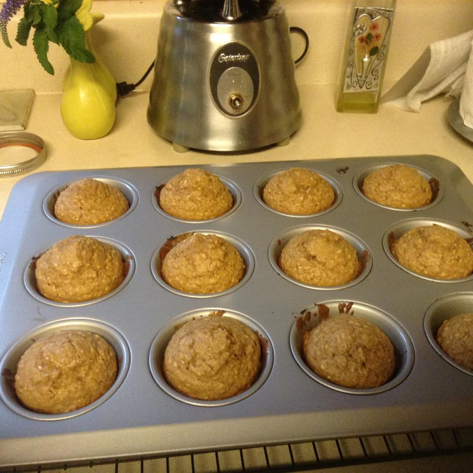 Buttermilk Oatmeal Muffins Katrina