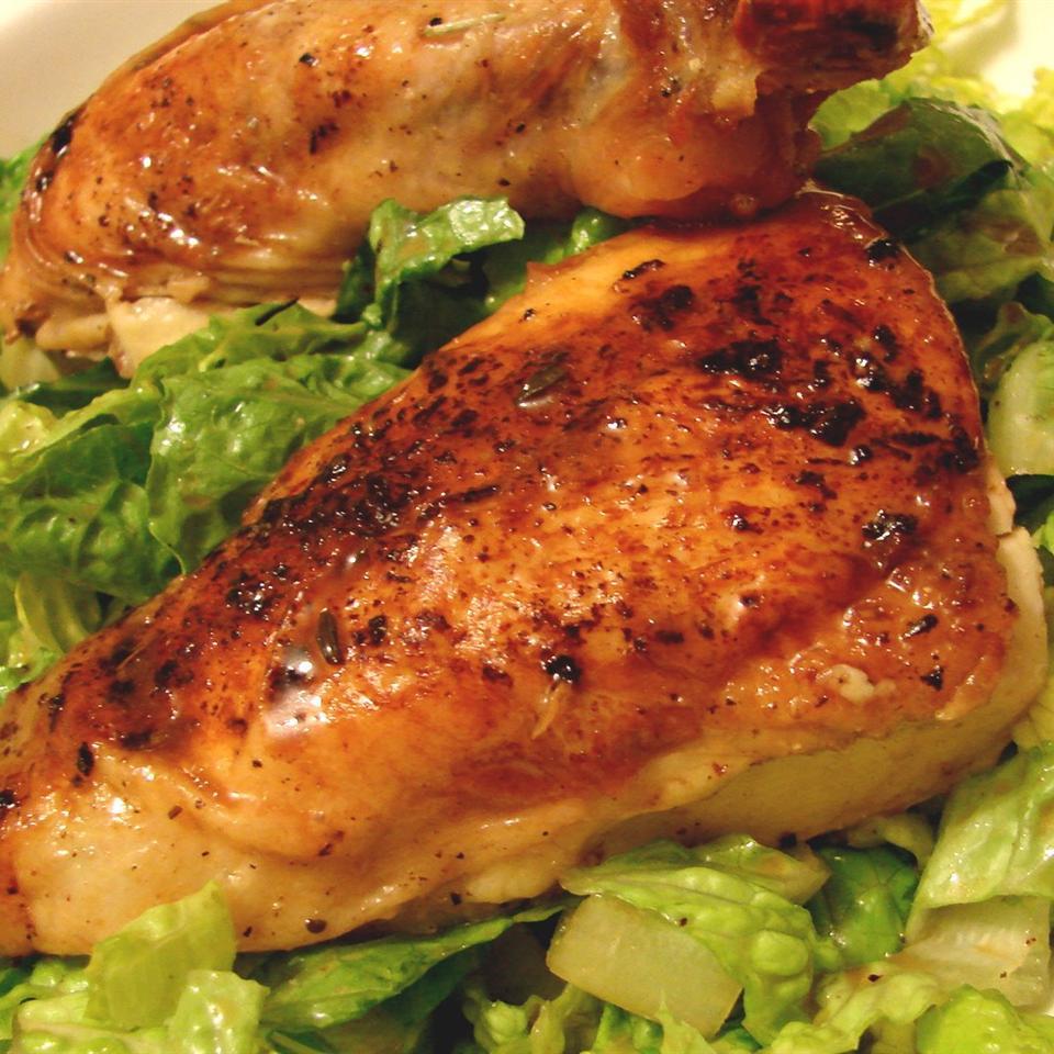 Black Lemon Chicken Salad