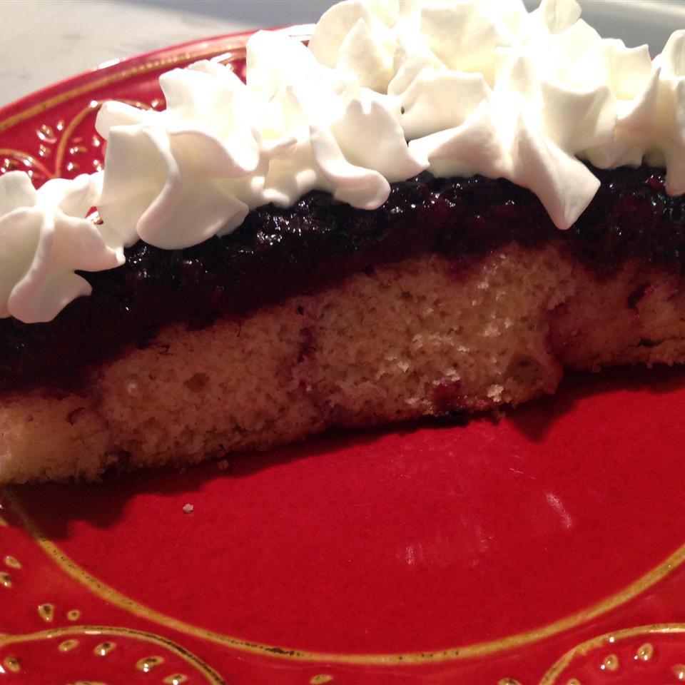 Blackberry Upside Down Cake centralORmom