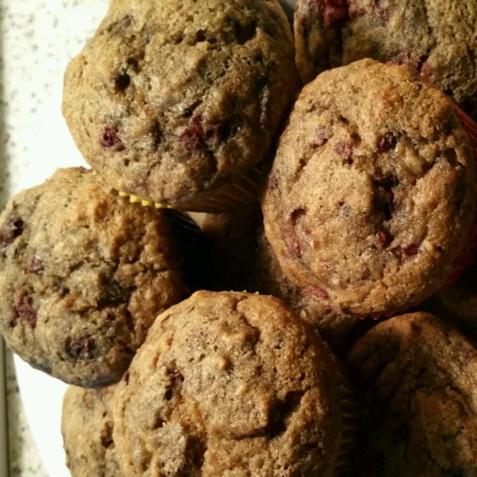 Edna's Banana Cranberry Muffins Jerri Mann