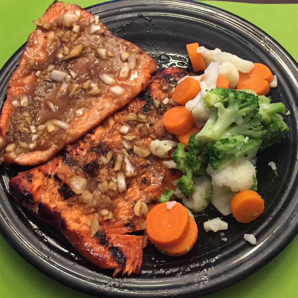 Maple Teriyaki Salmon Barbeque minikg16