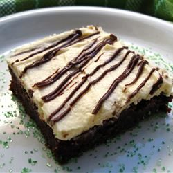 Irish Cream Brownies FoodFan