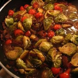 Bella's Brussels Sprouts with Bacon Jonathan Anthes