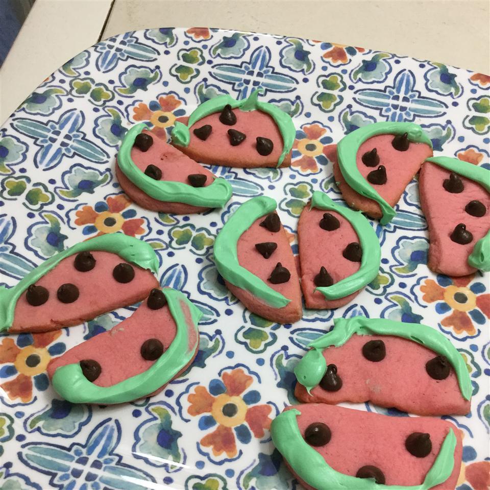 Watermelon Cookie