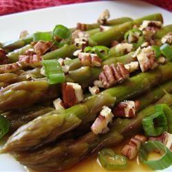 Asian Asparagus Salad with Pecans