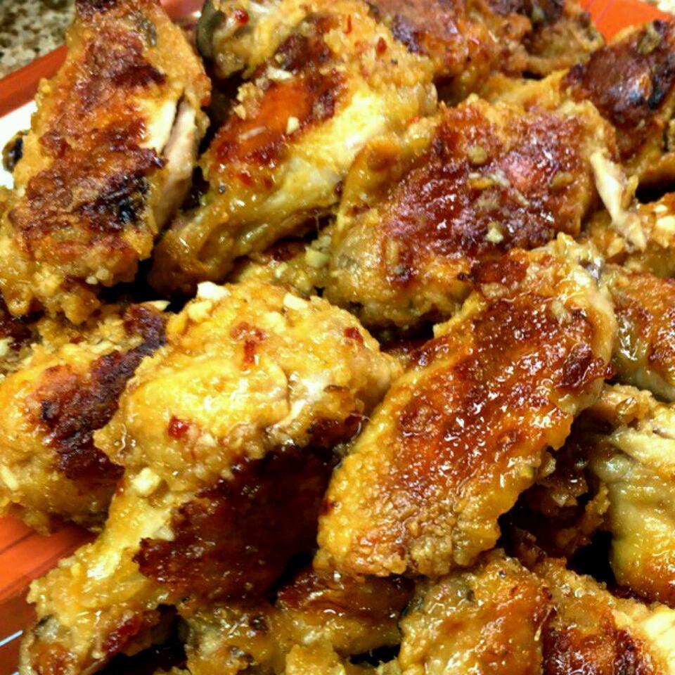 Garlic-Ginger Chicken Wings