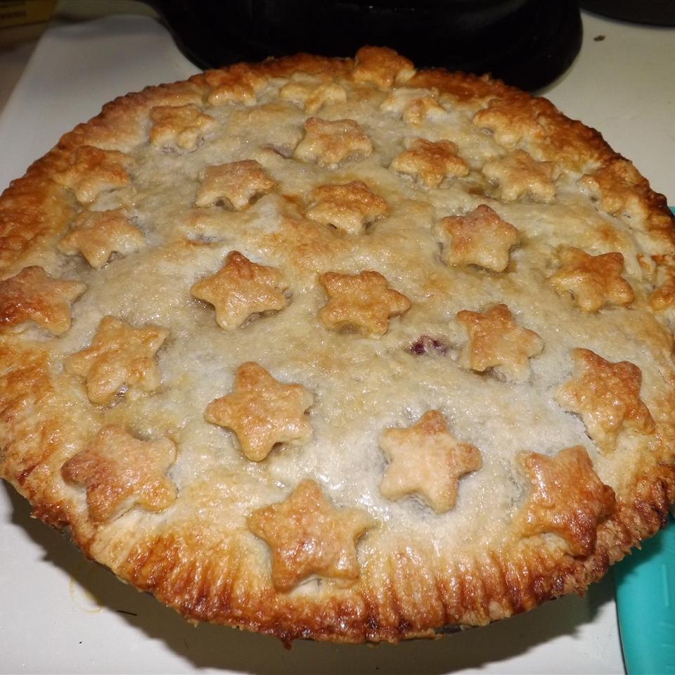 Cherry-Blueberry Pie Laura Mitchell Hamann