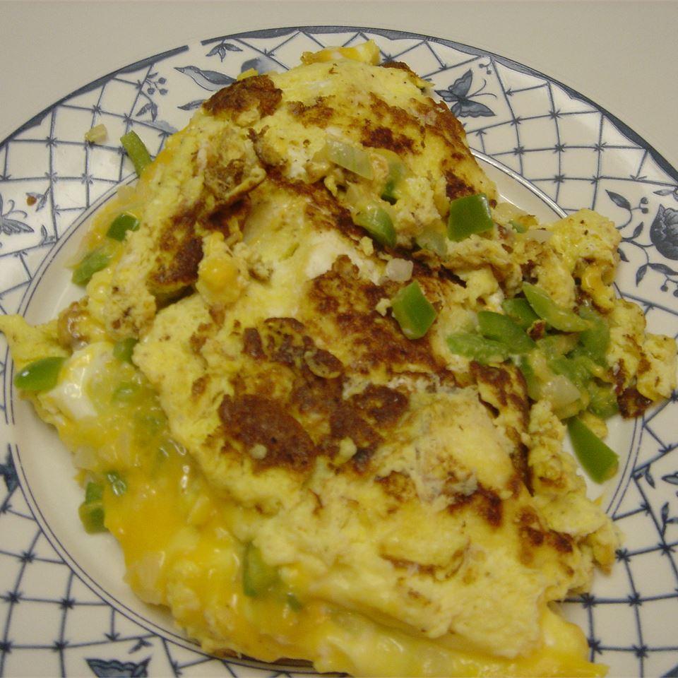Yummy Veggie Omelet ~lama~