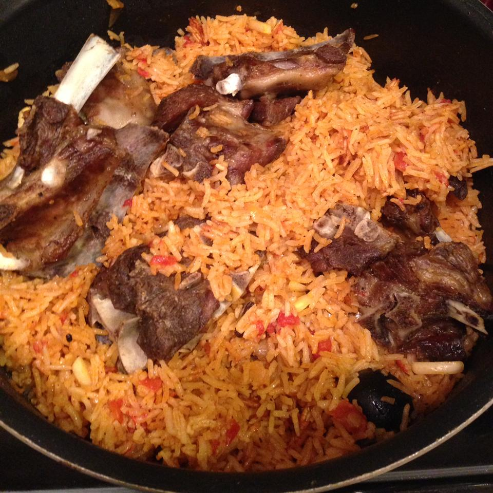 Al Kabsa Traditional Saudi Rice And Chicken Recipe Allrecipes