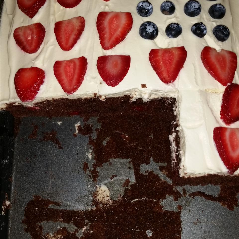 Chocolate Cherry Cake I