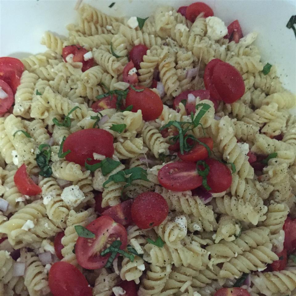 Tomato Basil Pasta NikkiRenae