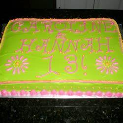 Chocolate Sheet Cake II C Proctor