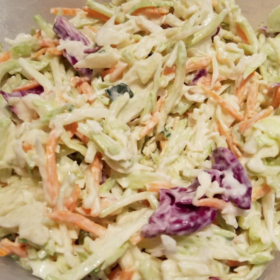 Homemade Coleslaw Tracey Garrett
