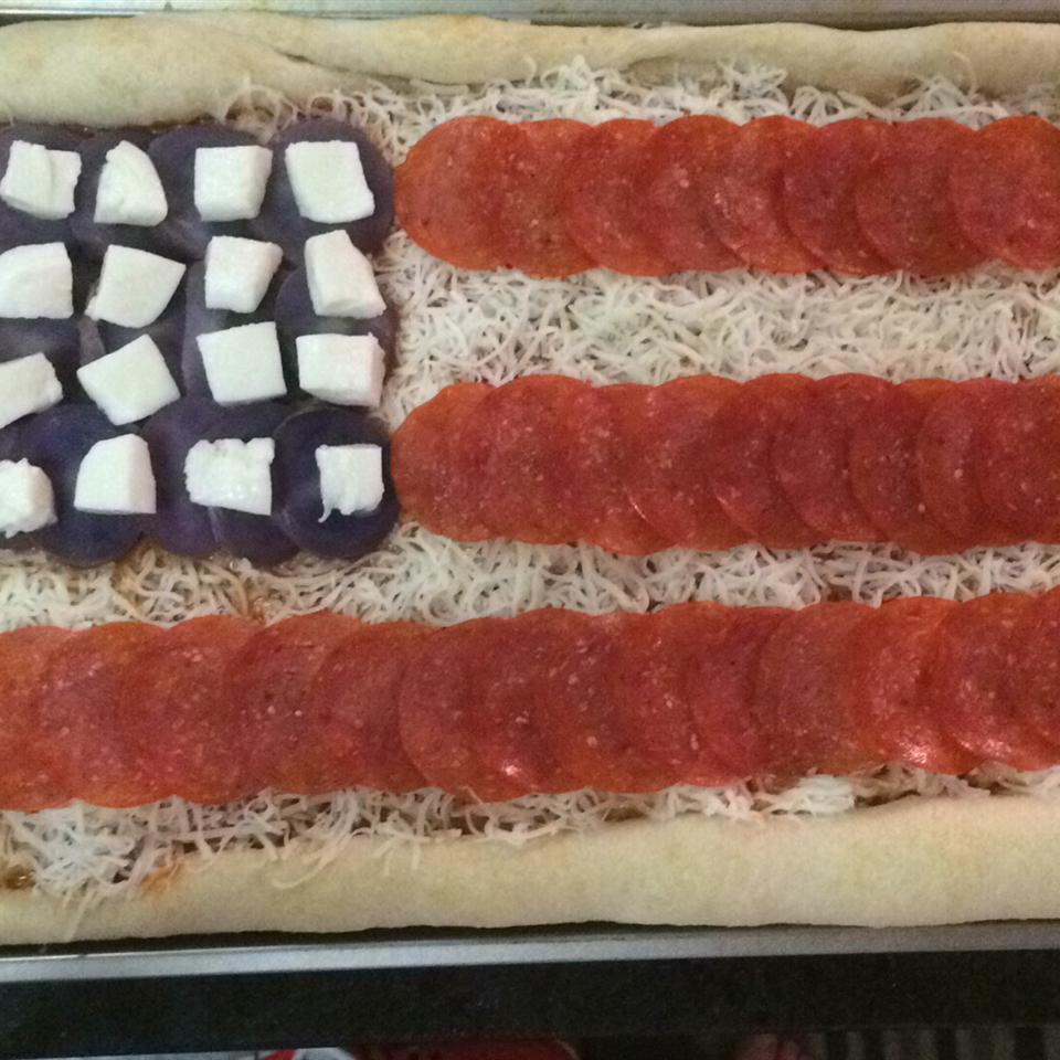 Flag Pizza Chris Butsch