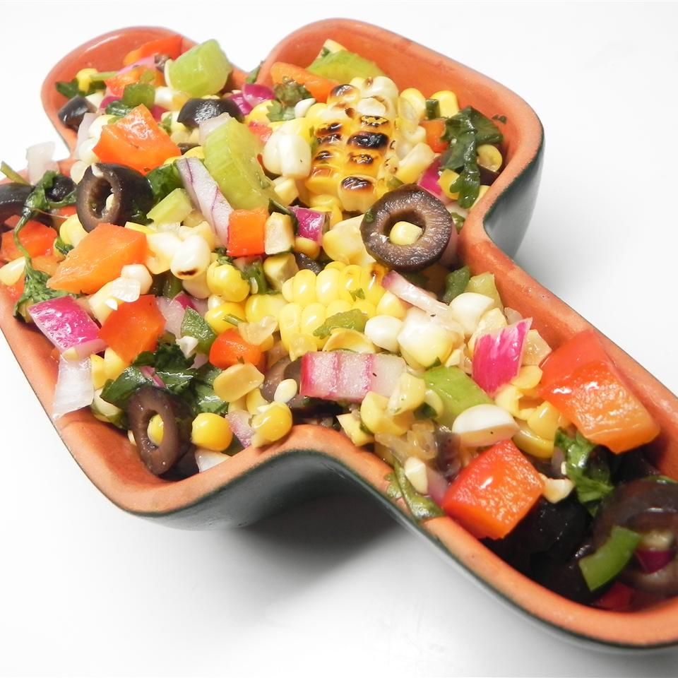 Chef Scott's Smoked Corn Relish Salad Soup Loving Nicole