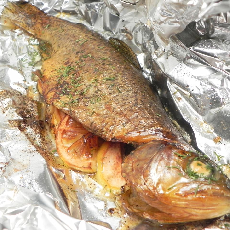 Texas Smoked Flounder