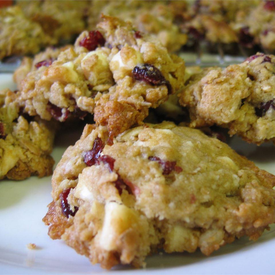Chocolate-Cran-Oat Cookies