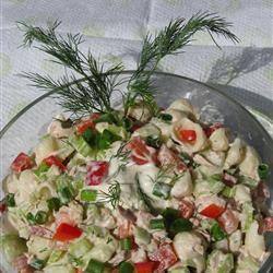 Dill Veggie Tuna Salad Beatrice