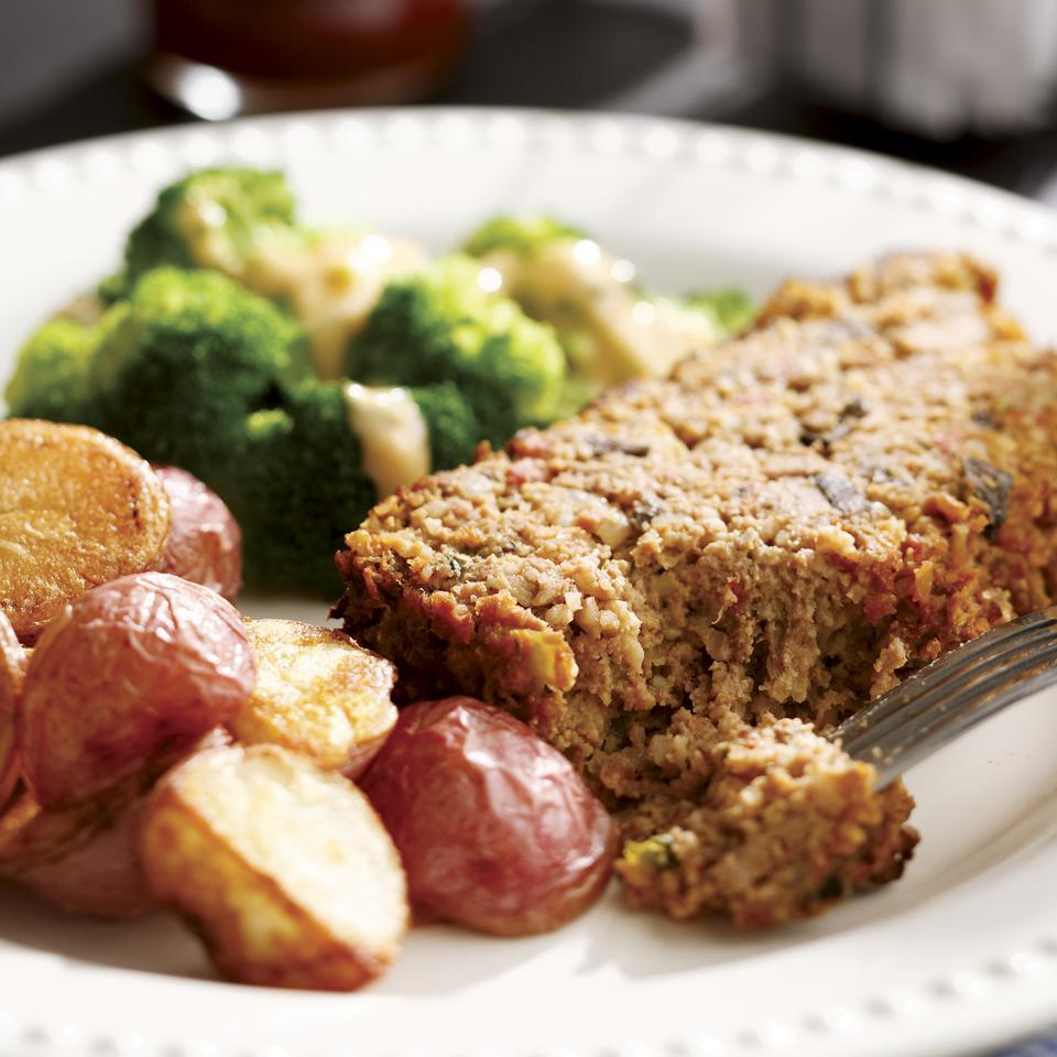 Meatloaf EatingWell Test Kitchen