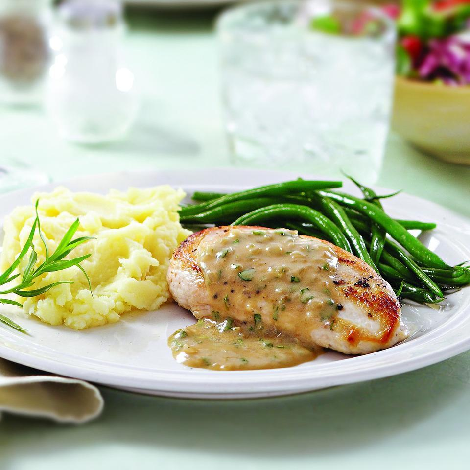 Tarragon Chicken EatingWell Test Kitchen