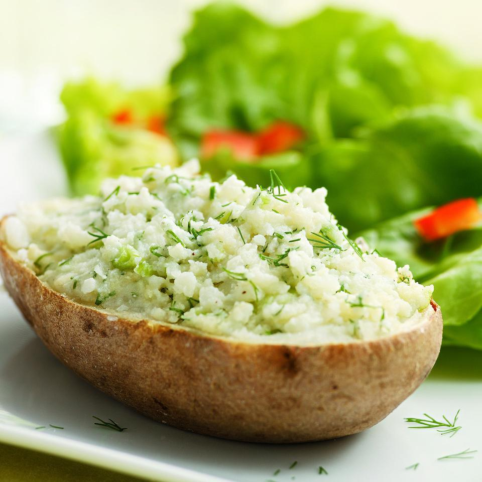 Healthy Twice-Baked Potatoes EatingWell Test Kitchen