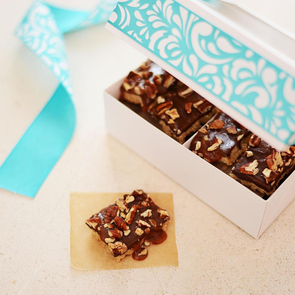 Pecan Turtle Bars EatingWell Test Kitchen