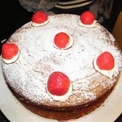 Nannie's Hot Milk Sponge Cake Áine Caulfield