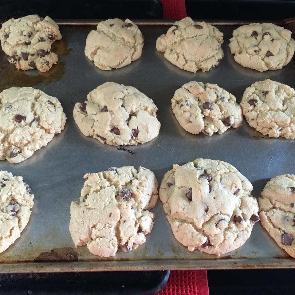 Mini Chip Sugar Cookies amanda