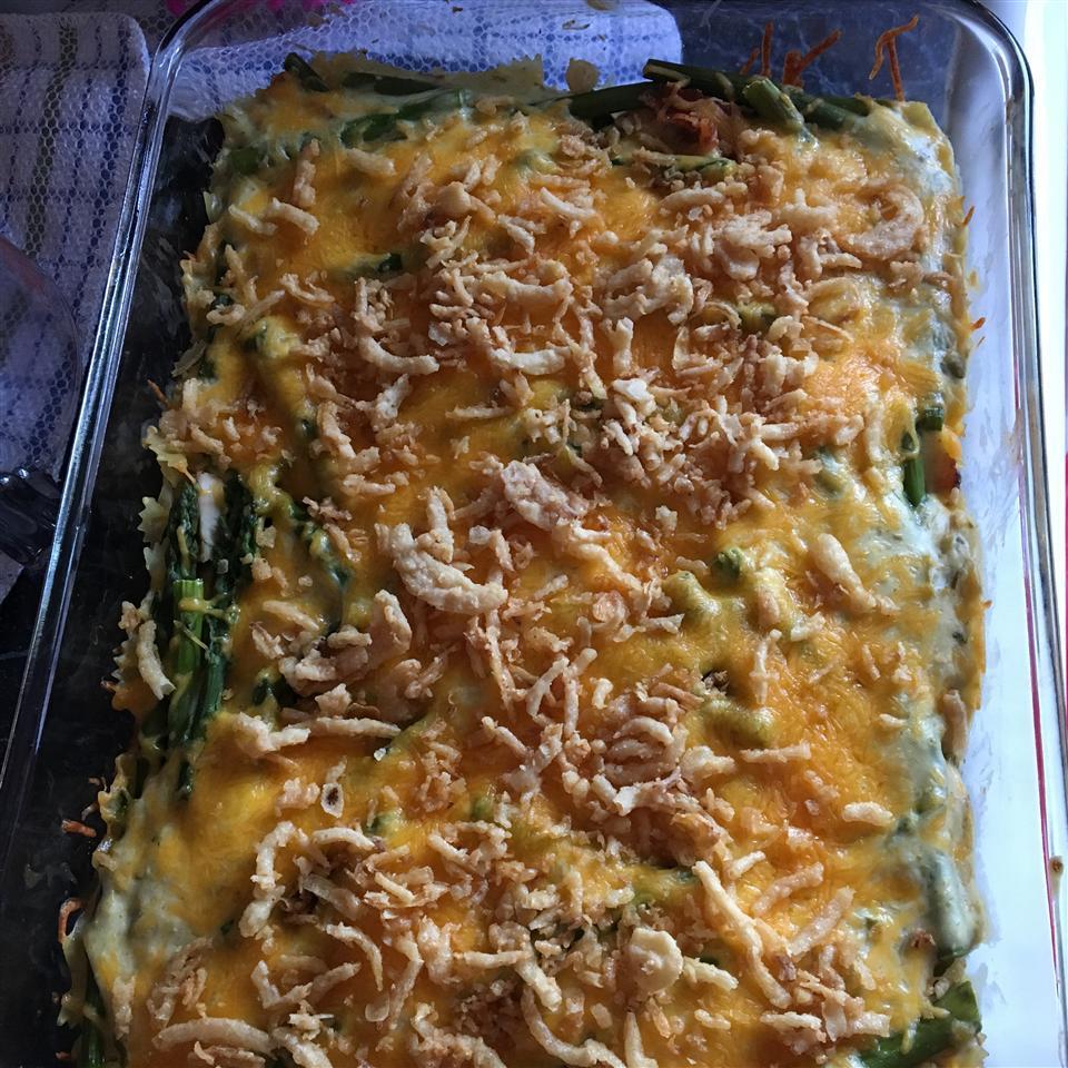 Cheesy Chicken Asparagus Casserole Katie
