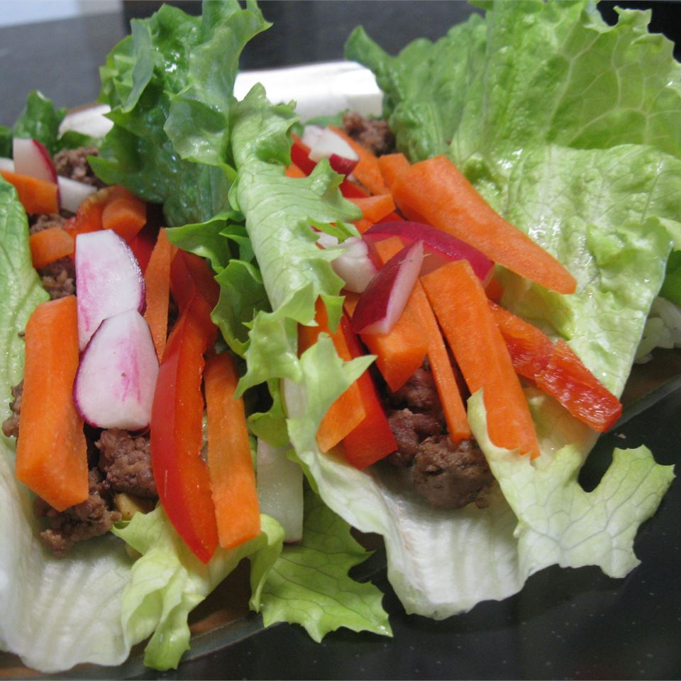 Asian Roll Lettuce Wrap mommyluvs2cook