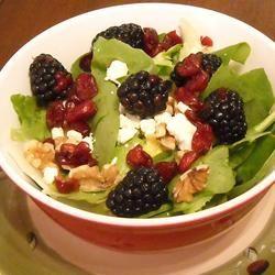 Blackberry Spinach Salad