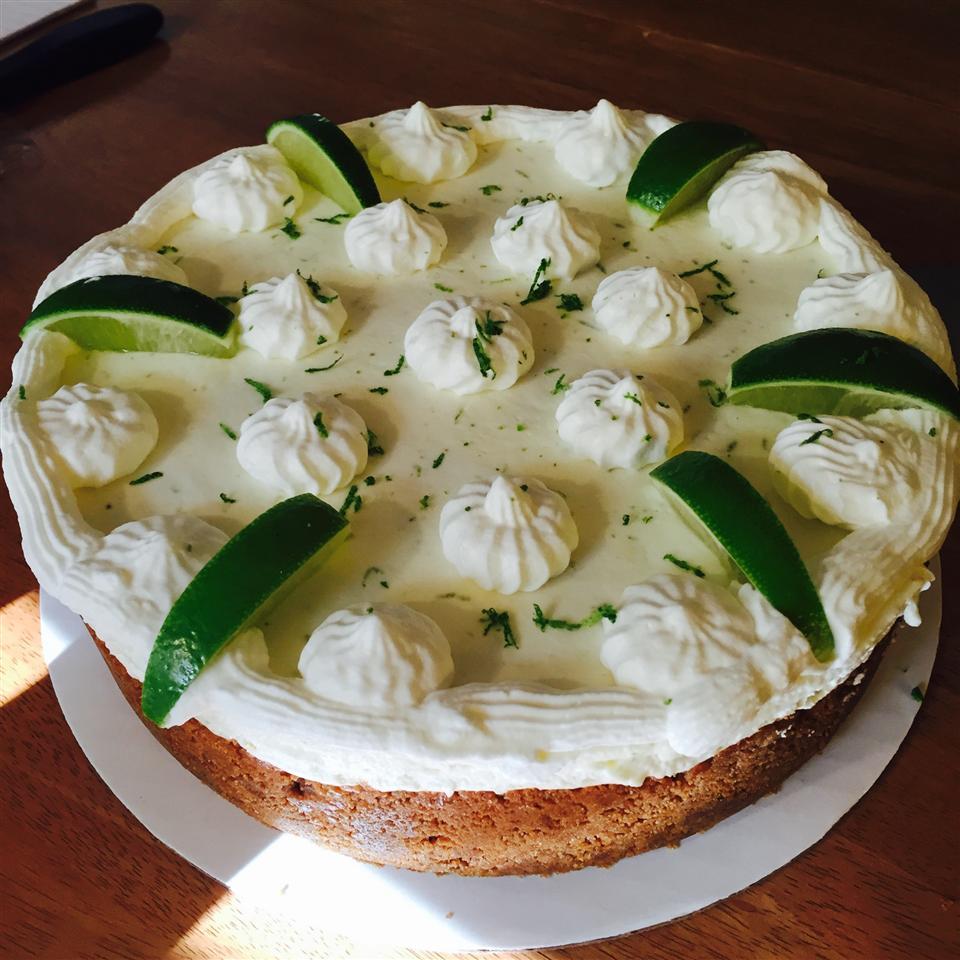 No Bake Lime Mousse Torte