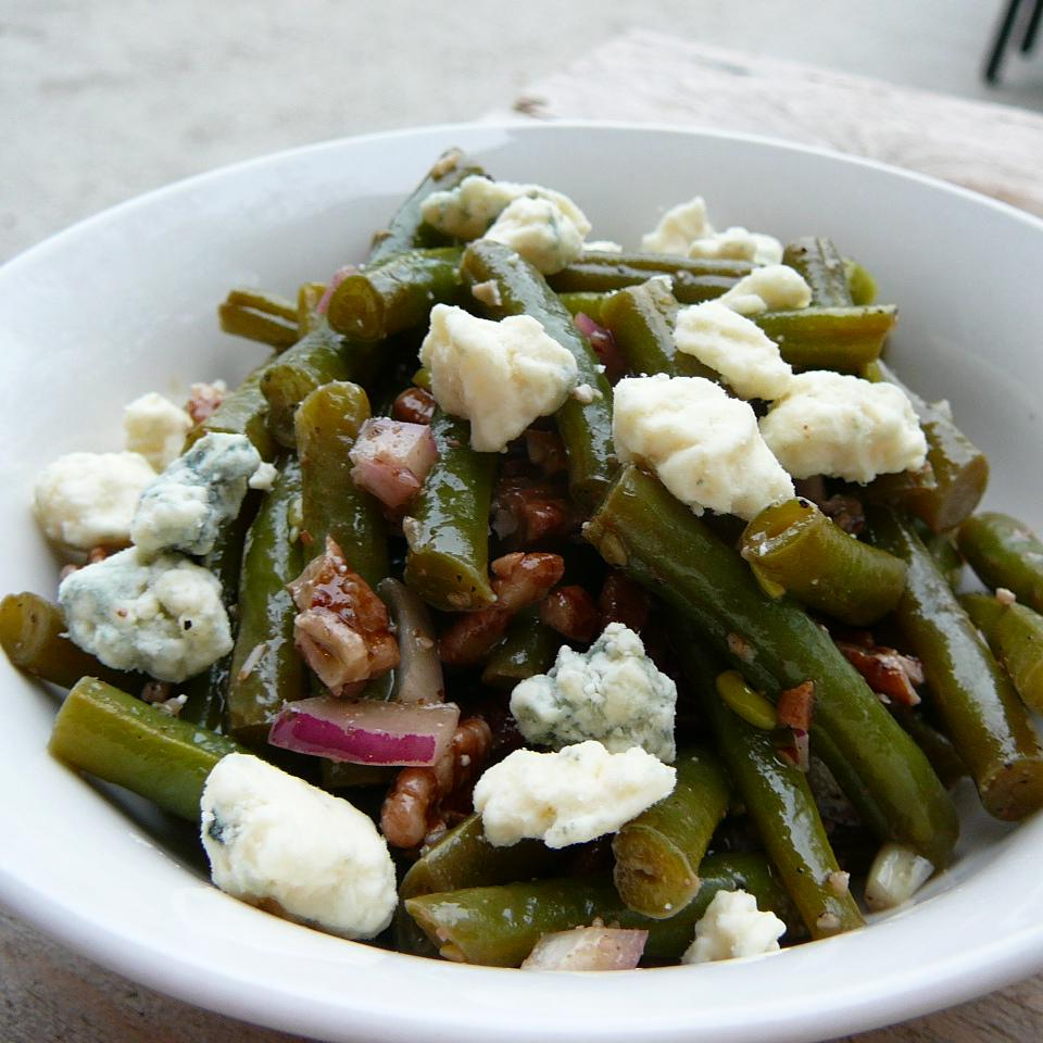 Green Bean Blue Cheese Salad Molly