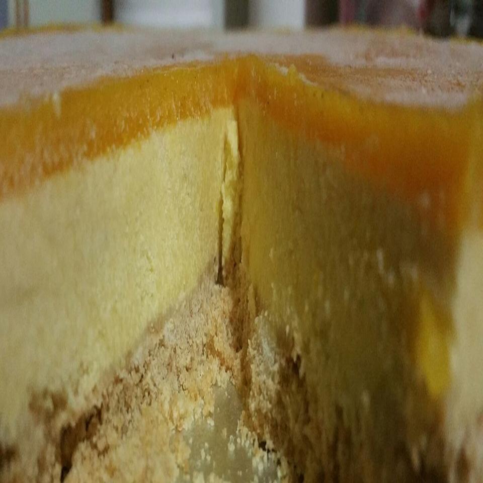 No-Bake Mango Cheesecake Nandini Pinge