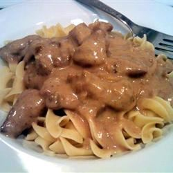 Beef Tips and Noodles Sherbear1