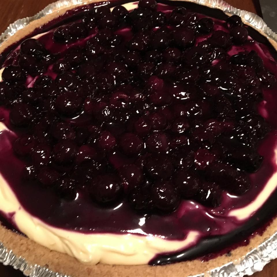 Lemony Blueberry Layered Pie sonias