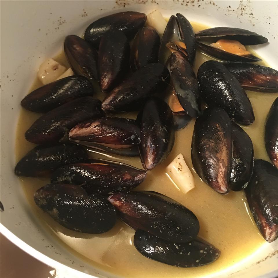 Mussels Mariniere Tyler Mueller