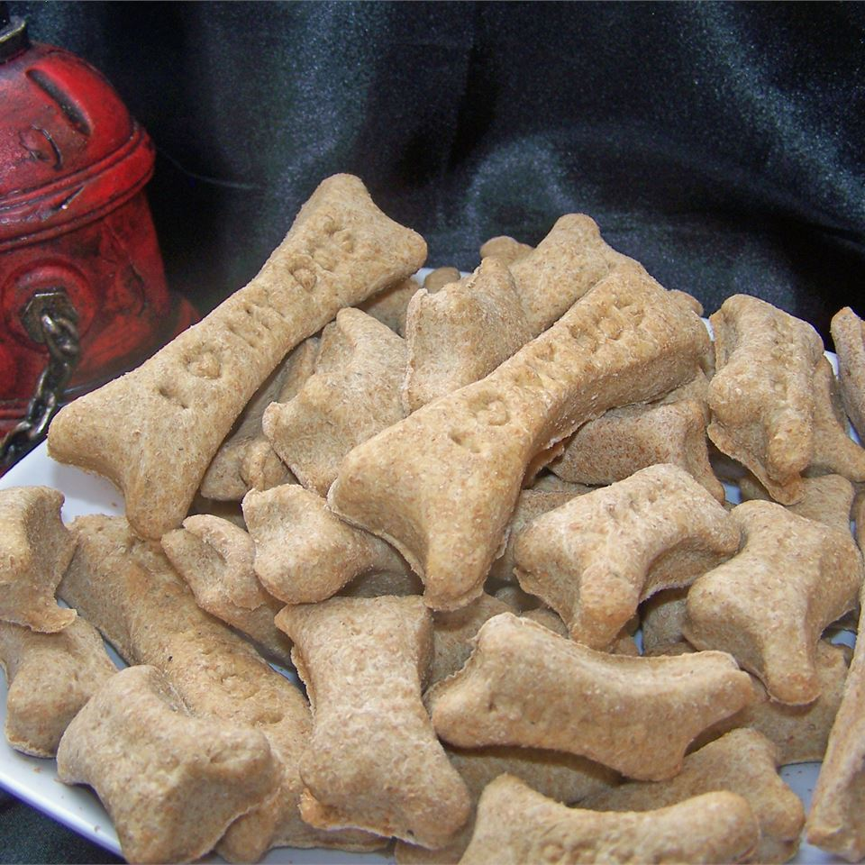 Bacon-Flavored Dog Biscuits