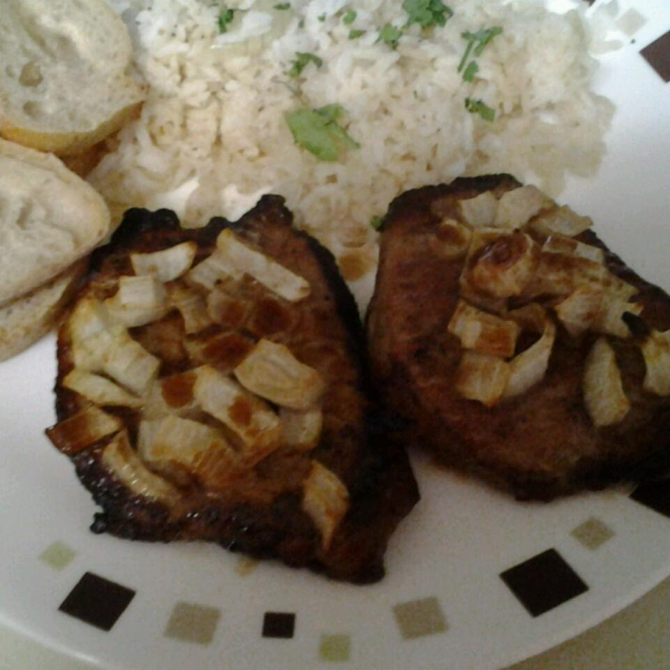 Honeyed Pork Chops