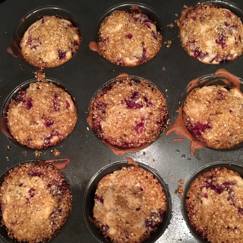 Gluten-Free Cherry Cobbler Muffins chiamira