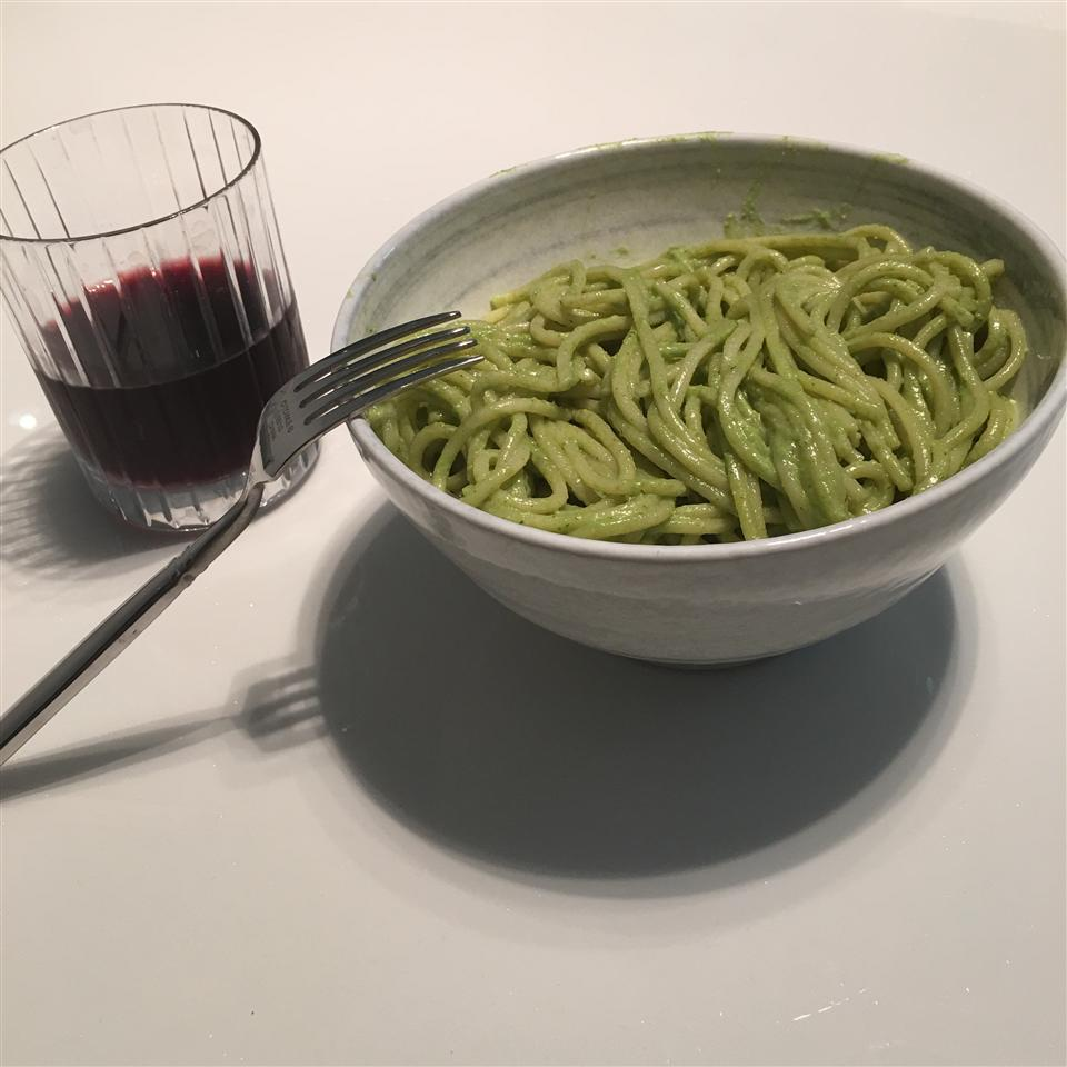 Light Lemon Pesto Pasta Josh Kao