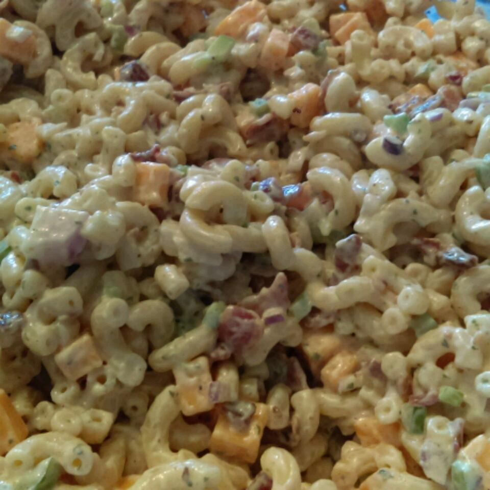 Bacon Ranch Macaroni Salad Maribel Willie Webster