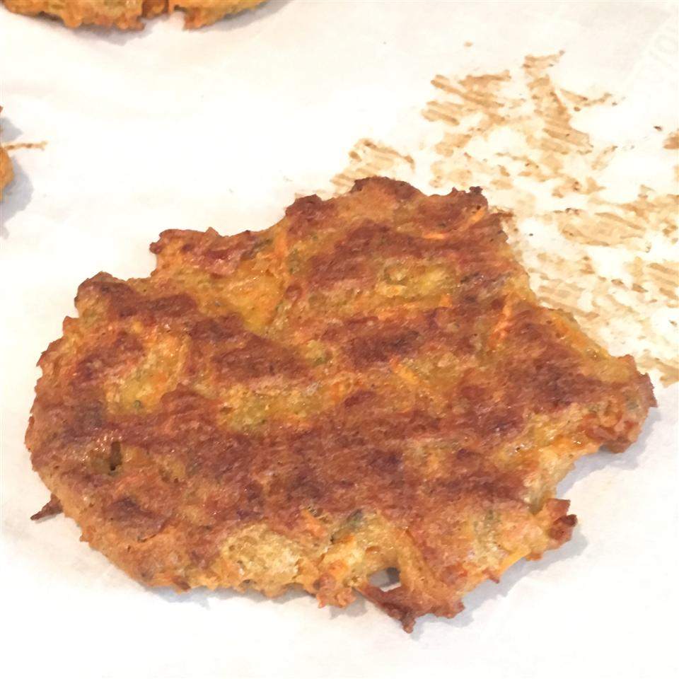 Carrot Burgers pinkerish