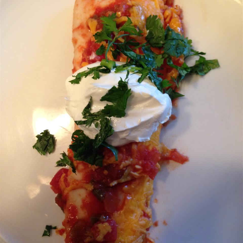 Creamy Chicken Enchiladas from Reynolds Wrap®