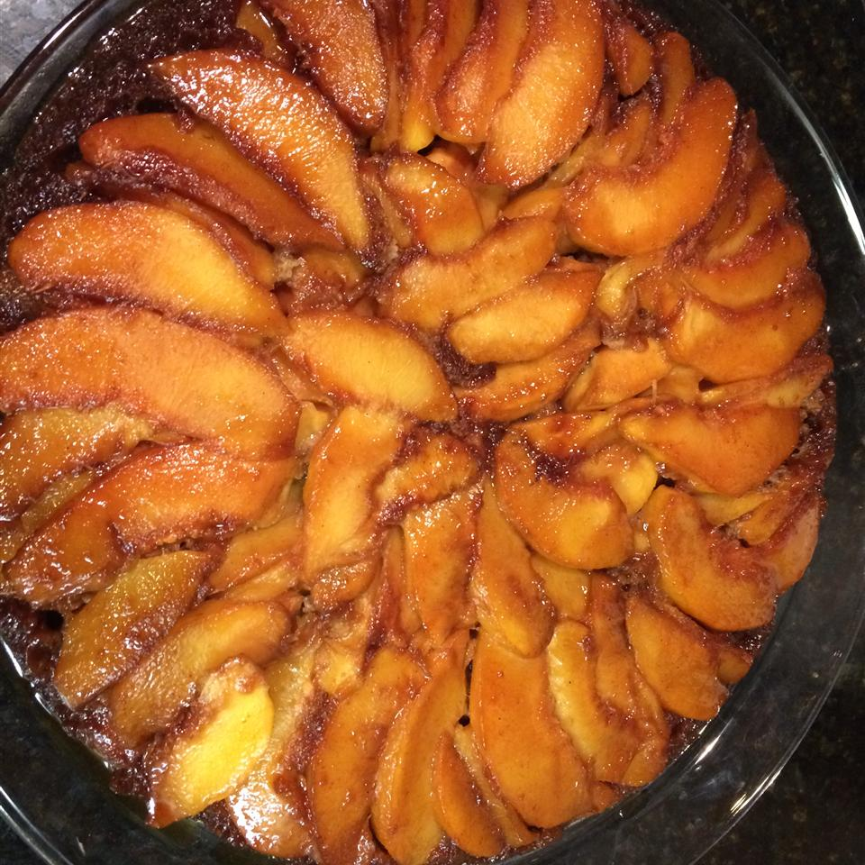 Peach Upside-Down Cake III