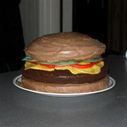 Hamburger Cake wickengurly