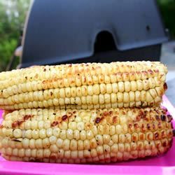 Garlic Corn on the Cob foodaholic